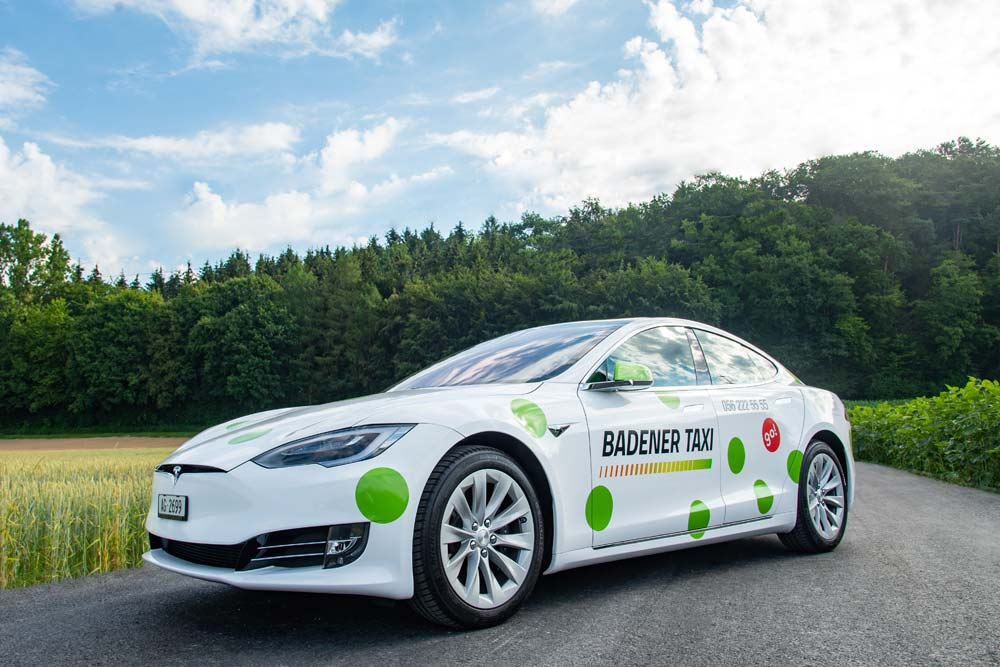 Badener Taxi AG Tesla